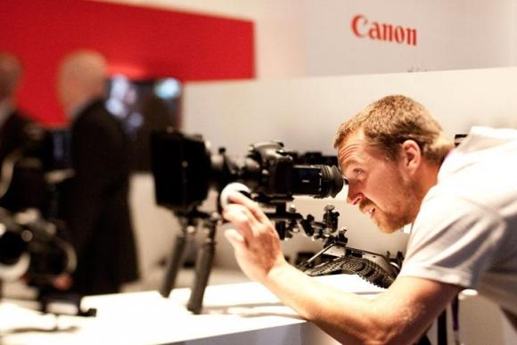 Canon videó-DSLR egy másik kiállításon