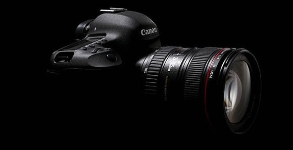 A legenda: Canon EOS 5D Mark II