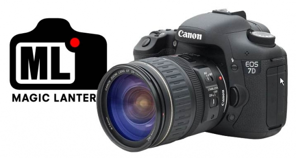 Canon EOS 7D Magic Lantern